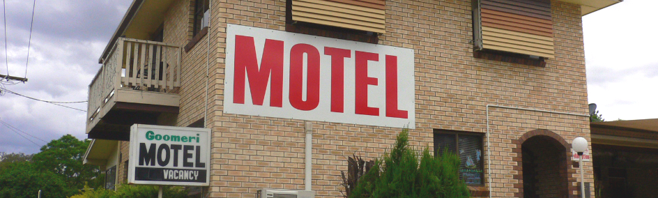 Goomeri Motel is the closest Motel to town